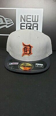 promo code 20272 ccac6 Detroit Tigers MLB New Era 59Fifty Fitted Hat Cap Size 7-1 2
