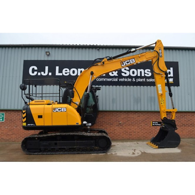 Jcb Js131 Lc Cab Care Handrails / Free Uk Delivery Included