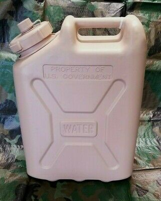 Military Water Can 5 Gallon 20L Desert Tan Scepter Jerry Can Water Jug NEW
