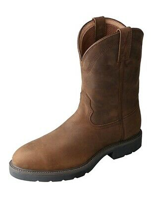 fc43bcdfe6b TWISTED X MENS Distressed Saddle Leather AT Casual Boots - $126.99 ...