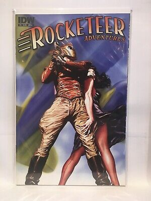 Rocketeer Adventures #3 Cover A NM- 1st Print IDW Comics