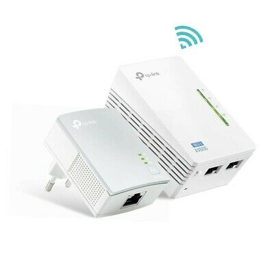 TP-Link TL-WPA4220 Kit Powerline WiFi, AV600 Mbps su + 300 WiFi