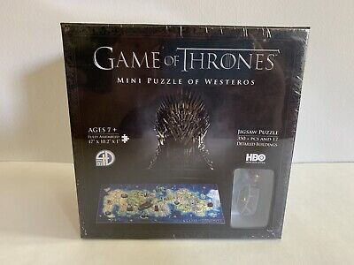 Game Of Thrones Puzzle Of Westeros. Brand New. 4D Cityscape. 3D HBO