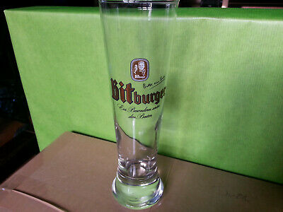 Bicchieri calice boccale beer birra Bitburger 0,20 l pub bar  stock lotto