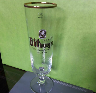 Bicchieri calice boccale beer birra BITBURGER  0,20 l pub bar stock
