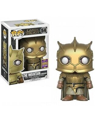 Funko Pop Game Of Thrones The Mountain Convention Exclusive