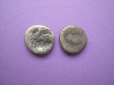 Ancient Celtic Silver Drachm, Donaukelten Ostkelten AR Drachme, Lot of 2