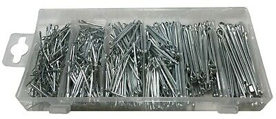 (555) Cotter Pin Clip Key Fitting Assortment Tool Kit Set Case Container Box