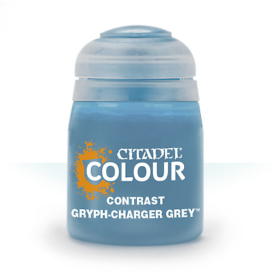 Gryph-Charger Grey Contrast Citadel Paint Warhammer 40K Age Sigmar
