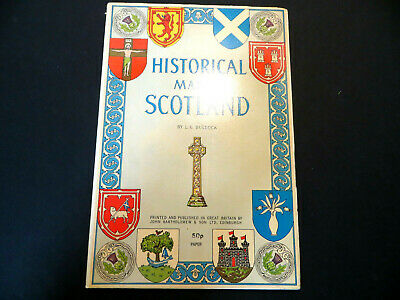 Historical Map of Scotland by L.G. Bullock