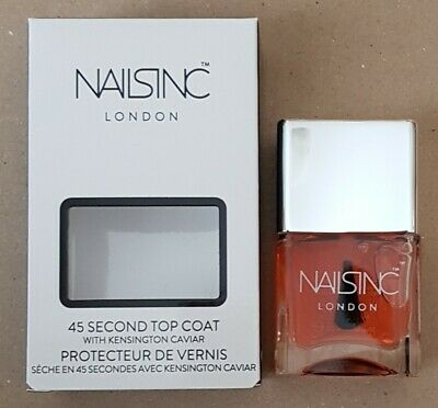 NAILS INC. LONDON Nails Inc. London 45 Second Top Coat with ...