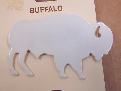 WHITE BUFFALO, Vintage Lazart Collector Series Brooch, Mint, New With Tags, NWT