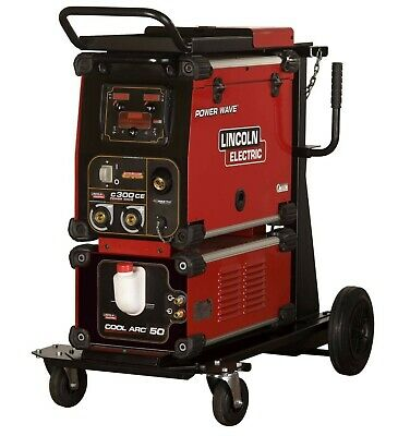 Lincoln Electric Power Wave C300 CE multi-process compact welding machine