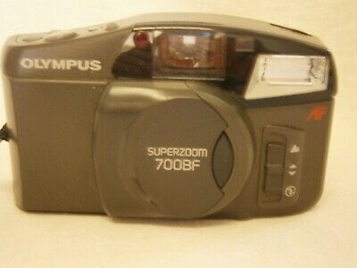 Vintage Olympus Superzoom 700Bf -35Mm Film Camera - Vgc