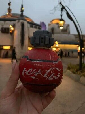Disney Disneyland Star Wars Galaxy's Edge Coca-Cola Coke Bottle New Unopened