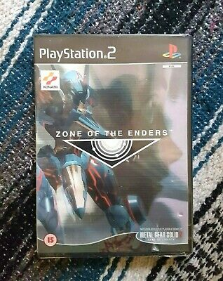 PS2 Zone of the Enders 2001 Pal New & Sealed Playstation