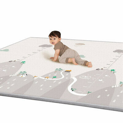 Soft Baby Play Mat Infant Thick Cotton Cushion Kids Floor Rug Crawling