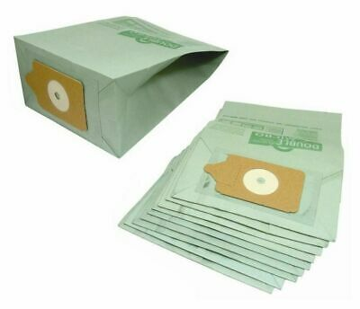 10 x  - FITS NUMATIC HENRY HOOVER VACUUM CLEANER DOUBLE LAYER PAPER DUST BAGS