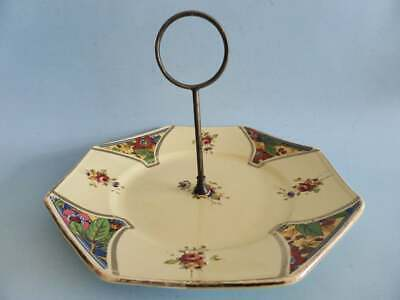 Vintage 1930s Art Deco Cake Stand Antique English Cupcake Stand Lancaster & Sons