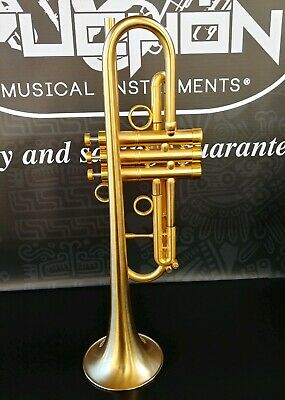 JP by Taylor Satin Gold Custom Bb Trumpet- Professional (small finish details)