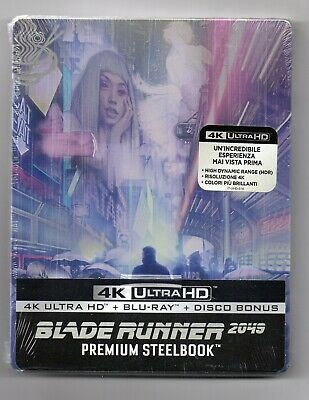 Blade Runner 2049 4K UHD - Blu-ray Steelbook - NEW/SEALED - Regions: ABC