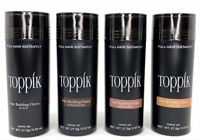 Toppik Hair Building Fibres 27.5g Buy 3 and get a 4th FREE UK Seller