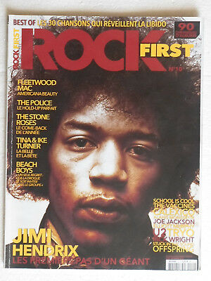 ROCK FIRST n° 10 - aout 2012 - 114 pages -