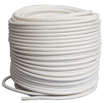Pepperell Braiding Coiling Cord, 1/2 Inch x 100 feet, White