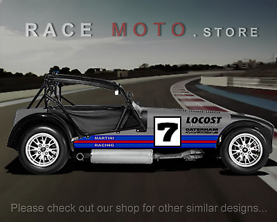 MARTINI RACING STRIPES over the top to any Porsche - $153 00