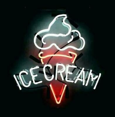 "New Ice Cream Shop Open Neon Light Sign 14""x10"" Pub Artwork Beer Decor Acrylic"
