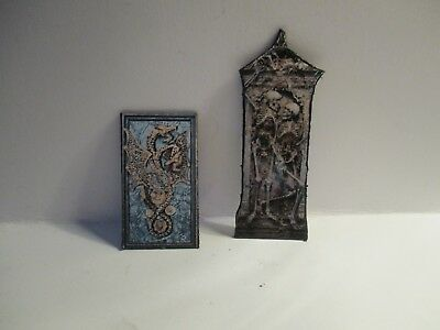 2 Dolls House Miniature  Witches Wall Hangings