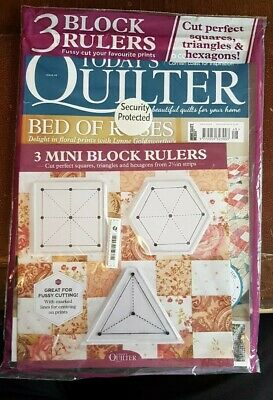 Today's Quilter magazine #48 2019 +Free 3Mini Block Rulers