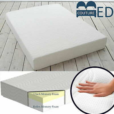 Lavish New Orthopaedic Visco Memory Foam & Reflex Mattress + All Sizes And Depth
