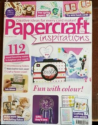 Papercraft Inspirations Magazine #189 April 2019 ~ Sealed With Gifts ~
