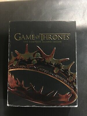 Game of Thrones: The Complete Second Season (Blu-ray Disc, 2014, 5-Disc Set)