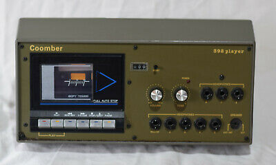Coomber 392 player Cassette recorder player