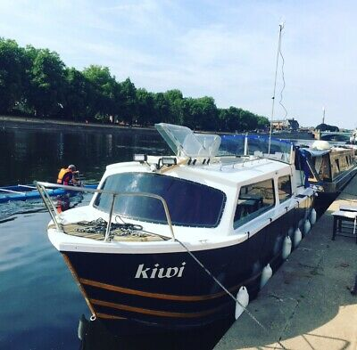 BOAT FOR SALE 25 foot Dawncraft cabin cruiser Shardlow Marina Derby