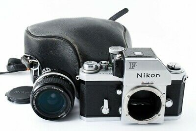 Nikon F Photomic FTN Body w/ Ai 28mm f/3.5 Lens w/Case [Exc+] from Japan #11144