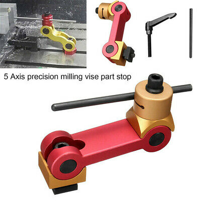 Mill Machines Diamond Dresser Positioning Fixture Work Stop Locator Vise Part