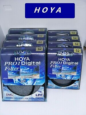 NEW Genuine Hoya  Pro1 UV DMC LP Multicoated Digital Filter Pro 1D ~ 49mm_82 mm