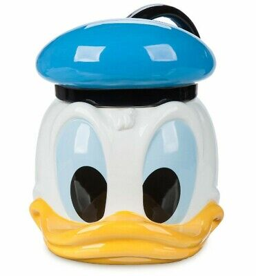 45e065bd3 2019 Disney Store Exclusive Donald Duck 85th Anniversary Birthday Cookie Jar  New