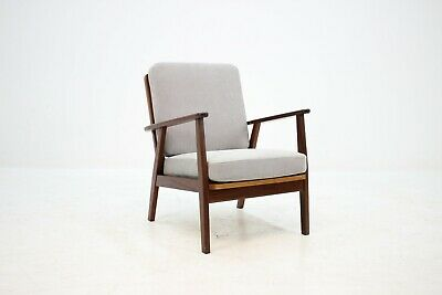 60er TEAK DANISH STUHL SESSEL 60s EASY CHAIR MIDCENTURY VINTAGE DESIGN