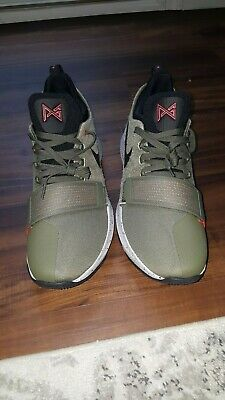 outlet store 549ac 329b4 NIKE PG 1 Elements Mens Basketball Shoes 911085 200 Paul George Sz 14 New