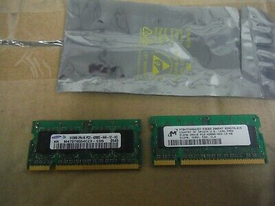 Samsung 512MB 2Rx16 PC2-4200S-444-12 A3 Ram Chips 2 of them