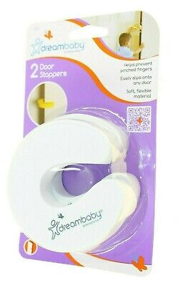 Dream Baby X 2 Door Stoppers Helps Prevent Pinched Fingers Quality Item