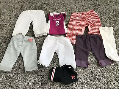 Doll Clothes Lot Of All American Girl Doll + Accessories & Shoes + Extras
