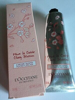 L'occitane  Cherry Blossom Hand Cream 150 Ml Supersize New Boxed