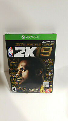 NBA 2K19 20th Anniversary Edition - Xbox One Disc Deluxe