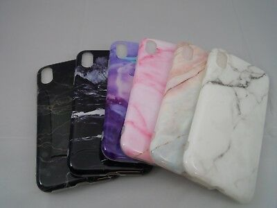 Ultra Slim Marble Stone Pattern Soft TPU Silicone Case Cover for Apple iPhone X