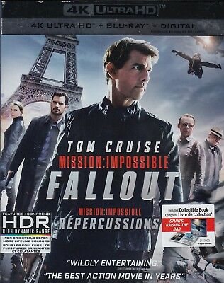 Mission Impossible Fallout (4K Ultra Hd/Bluray)(3 Disc Set)(Used)